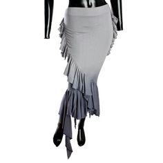 Lip Service Jersey Ruffle Skirt, 88$