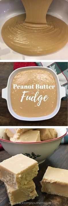 I love Peanut Butter Fudge. This recipe, with marshmallow cream is one the easiest recipes for this holiday season. This makes a great Thanksgiving dessert, or a wonderful gift for your teacher, neighbor, or friend at Christmas. Best Peanut Butter Fudge, Peanut Butter Recipes, Fudge Recipes, Candy Recipes, Sweet Recipes, Dessert Recipes, Ark Recipes, Dinner Recipes, Turkey Recipes