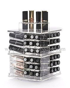 Zahra Beauty Spinning Lipstick Tower Vitreous  The Best Lipstick Holder Holds 81 Lipsticks Without Bling *** Check out the image by visiting the link.