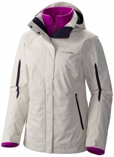 9daadac4 Columbia Bugaboo Interchange Jacket: Outer shell layer for winter hiking in  cold weather, a