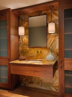 Bathroom Stone Wall Bathroom Design, Pictures, Remodel, Decor and Ideas