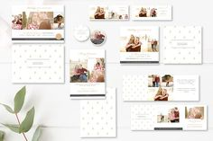 Holiday Mini Session Templates by By Stephanie Design on @creativemarket