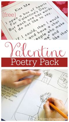 Our Valentine Poetry Pack was such a hit this past week at our house. Even my 3rd grader asked to join in the fun. Included in the free pack {download found at the end of this post} is original poetry and clip art drawn by my son plus writing, rhyming, and spelling activities you can …