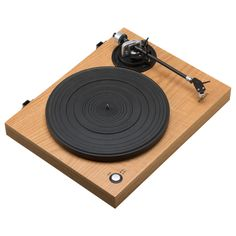 ROBERTS RT100 Two Speed USB Turntable, Natural Wood on sale in the UK along with best deals on many other home entertainment systems and accessories