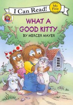 Little Critter's new pet kitty tangles up his mom's knitting, knocks over the trash, and gets trapped high up in a tree, causing his family to become frustrated with the cat.
