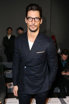 David Gandy - Front Row - London Collections: Men AW14