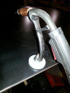 Mig gun holder