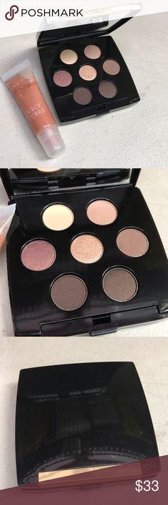 Lancome set Eyeshadow pallet lipgloss x 2 Set of two - nude Lancome Eyeshadow palette and lipgloss Lancome Makeup Eyeshadow