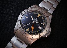 Vintage Rolex, Vintage Watches, Rolex Explorer, Omega Watch, Rolex Watches, Times, Antique, Accessories, Clocks