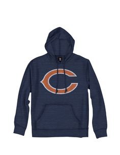 Amazon.com   Chicago Bears NFL Men s Primary Logo Pullover French Terry  Hoodie aab07cb61