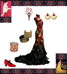 """Opera """"Carmen"""" by nyc14kgold ❤ liked on Polyvore"""
