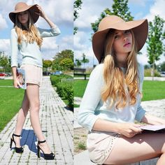 HAT AND VOGUE (by Sally D) http://lookbook.nu/look/3921754-HAT-AND-VOGUE