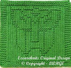 knitting Cloth Pattern  TRANSFORMER  PDF by ezcareknits on Etsy