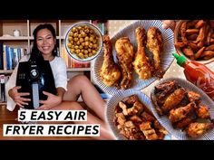 5 Easy Air Fryer Recipes For Beginners - YouTube