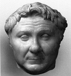 Wk Bust of Pompey Roman Republic, Visual Aids, Roman Art, Statue, Sculpture, Sculptures