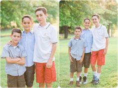 Family Photos   Summer Photos   Boys   Portrait Session   Outfit Ideas