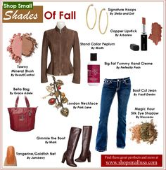 Great fall fashions from:  Vault Denim, Worth, Avon, Stella & Dot, Park Lane, Beauticontrol, Grace Adele, Mary Kay, Perfectly Posh, Nouveau and Jamberry.