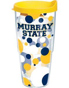 Murray State Polka Dot 24oz Tervis Tumbler w/ lid $19.99