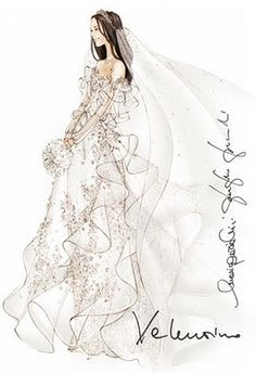 Designers Sketch Wedding Dresses for #Kate_Middleton