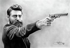 Ned Kelly - Graphite Drawing by John Harding Sarah Hanson Young, Famous Outlaws, Grim Reaper Tattoo, Ned Kelly, Graphite Drawings, Tattoo Fonts, Photos, Pictures, Life Is Beautiful