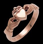 Rose Gold Claddagh Ring!
