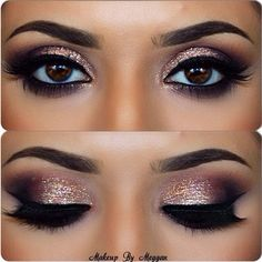 Love these eyes, dramatic and glittery                                                                                                                                                                                 More