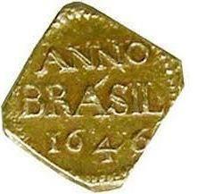 Primeira moeda Brasileira.