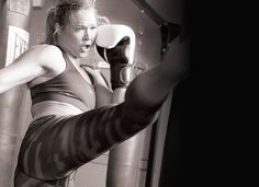 Train Like Ronda Rousey - Oxygen Women's Fitness