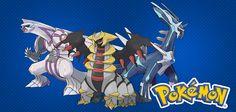 A Nintendo preparou uma surpresa para comemorar o lançamento de Pokémon X & Pokémon Y. A empresa dará aos fãs brasileiros pokémons lendários do game Diamond e Pearl, Dialga, Palkia e Giratina, na versão shiny. Curtiram?  www.nagem.com.br