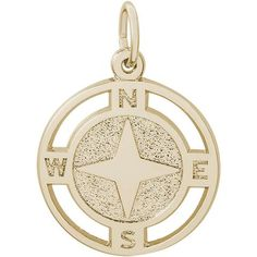 Find our newest products here. 14k Gold Jewelry, Charm Jewelry, Magic Charms, Nautical Compass, Nautical Jewelry, Rembrandt, Plating, Sailor, White Gold