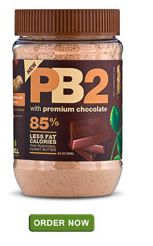 I've heard that PB2 is AMAZING!!! Mix 2 Tblspns with 1 Tblspn water and its only 45 calories =1 pt on WW points plus versus 200 calories of regular peanut butter.