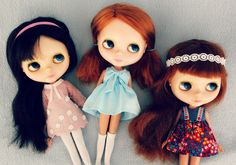 Kenners wearing Cosmia dresses (Lovely Cosmia by rosieandmaggie, via Flickr)