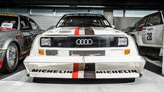 Inside Audi's secret racing stash - BBC Top Gear
