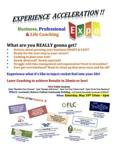 Coaching Expo in Loveland, Colorado May 10