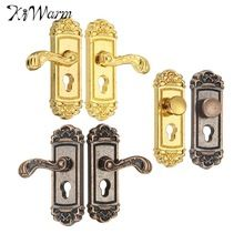 2Pcs Mini door lock for 1:12 miniature dollhouse accessory home decor DIY ^P