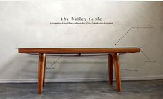 The Bailey Table by Rose and Heather NZ