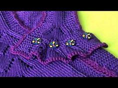 Платье для Грэйси. #3. Спинка. Р. 51-60 - YouTube