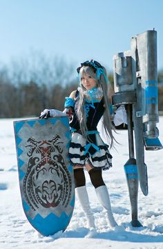 "Monster Hunter cosplay! ""Rifa"" from http://ja.curecos.com #MonsterHunter #MH"