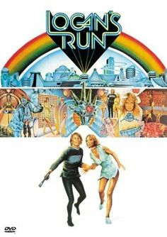 No one allowed to live past Farrah Fawcett Majors was in this film.one of the original Charlies Angels. Film Movie, Logan's Run Movie, Jaws Movie, Movie Props, Classic Sci Fi, Classic Movies, Old Movies, Great Movies, Awesome Movies