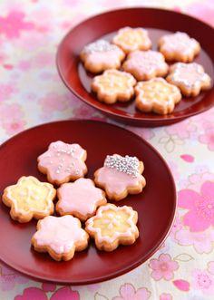 桜クッキー のレシピ・作り方 │ABCクッキングスタジオのレシピ | 料理教室・スクールならABCクッキングスタジオ