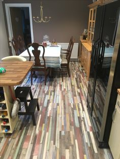 Check out mohammed 39 s fantastic new super gloss floor for for Manhattan laminates
