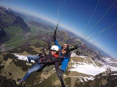 **Freeminds Paragliding Tandemflights - Engelberg, Switzerland