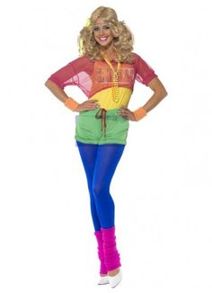 12 Best 1980s Costumes images  1372a441678e7