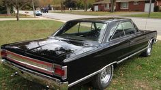 1967 Plymouth Satellite hardtop coupe