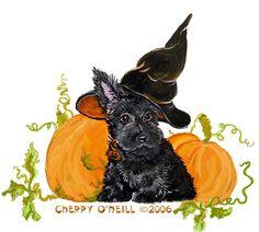 Scottie Puppy Halloween