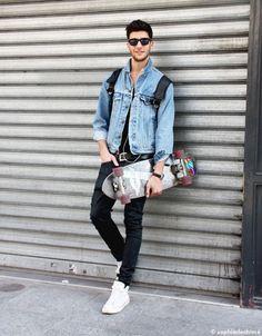 Cool Board look - Gabriel 21 ans