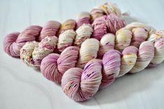 Yarn Inspiration, Finger Weights, Sock Yarn, Merino Wool, Socks, Colours, Dog, Pink, Diy Dog