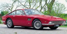 1964 TVR Trident. Ford V8 rated at 271bhp. Styled in Paris by Fiore and built in Italy (not Blackpool) by Fissore. Body in aluminium and steel