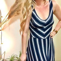 c0ec42a6ef616 Anthropologie Dresses & Skirts - BOGO ANTHROPOLOGIE Puella Blue Striped Maxi  Dress