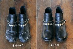 Quick Trick: Remove Salt Stains From Leather Boots